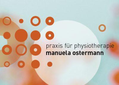 Corporate Design  // Manuela Ostermann Physiotherapie