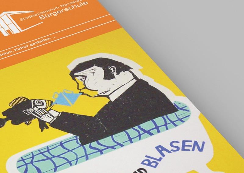 Branding // Stadtteilzentrum Nordstadt Bürgerschule
